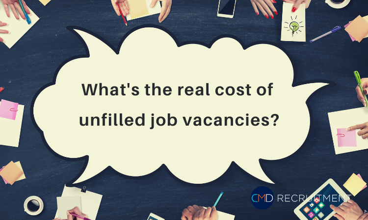 What's the real cost of unfilled job vacancies?
